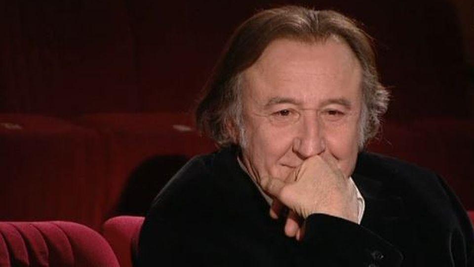 Jean François Balmer, comédien. [RTS]
