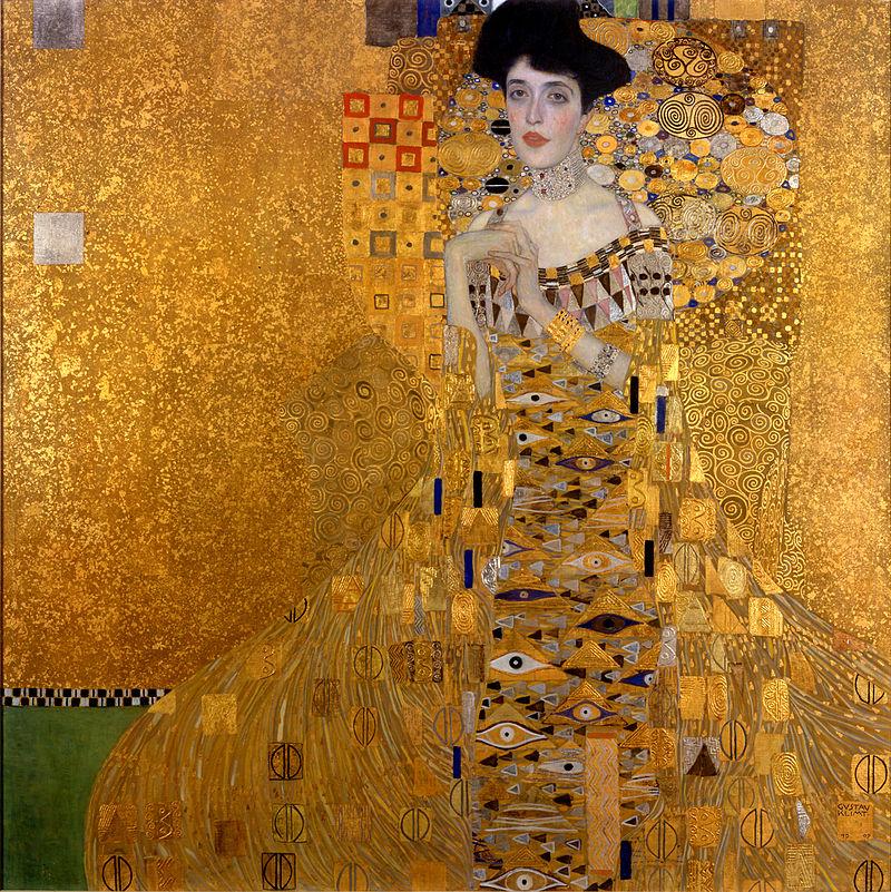 """Portrait d'Adèle Bloch-Bauer I (1907), également appelé """"Woman in Gold"""". Ce tableau est considéré comme la """"Joconde autrichienne""""."""