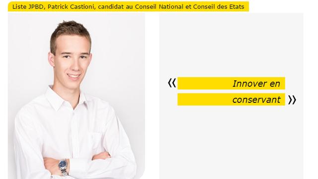 """Patrick Castioni a pour devise """"Innover en conservant"""" [PBD Fribourg]"""