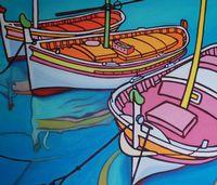Narcisse et ses copines se mirent dans le port. [Gwendoline Pieters - DR]