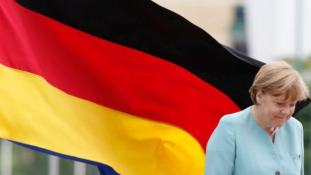 La chancelière allemande Angela Merkel. [Amel Emric - AP/Keystone]