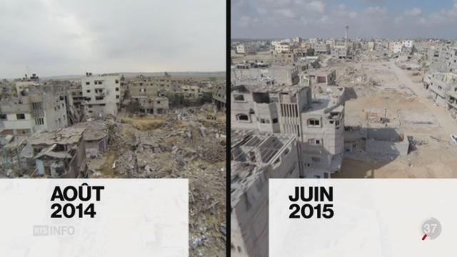 La reconstruction dans la bande de Gaza est au point mort [RTS]
