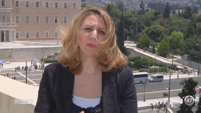 Grèce - réforme: les précisions d'Alexia Kefalas, correspondante en Grèce, depuis Athènes [RTS]
