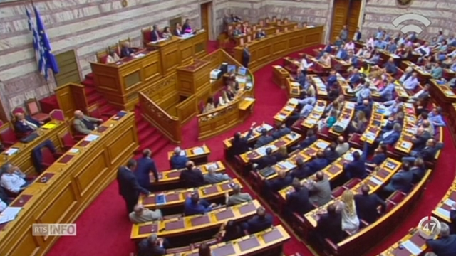 Grèce - Dette: le programme de réforme d'Alexis Tsipras obtient le soutien du Parlement grec [RTS]