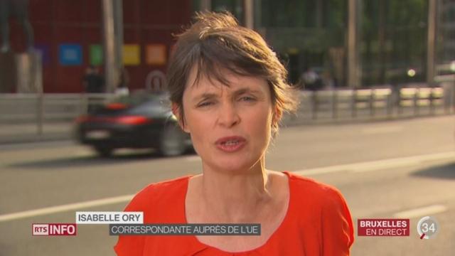 Grèce - Dette: l'analyse d'Isabelle Ory à Bruxelles [RTS]