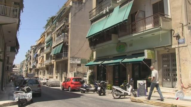 Grèce - Dette: Alexis Tsipras vit en homme du peuple dans un quartier pauvre d'Athènes, Kipseli [RTS]