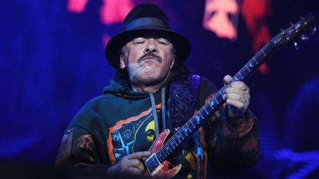 Carlos Santana (ici, à Mexico, 23.03.2015. [Koral Carballo - AFP]
