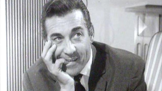 Luis Mariano de passage en Suisse en 1960. [RTS]