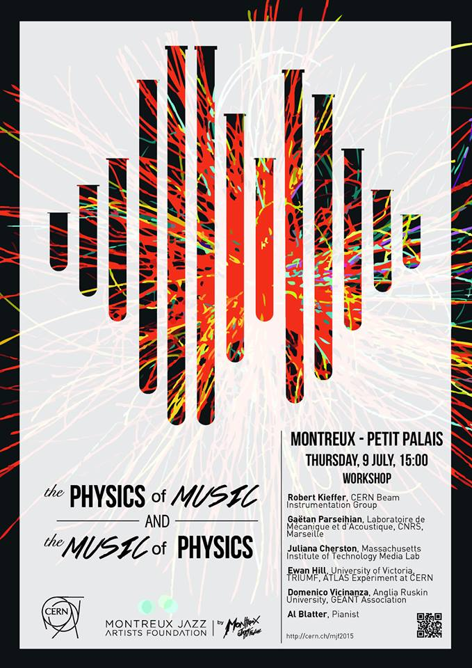 "L'affiche du workshop ""The Physics of Music & The Music of Physics""."