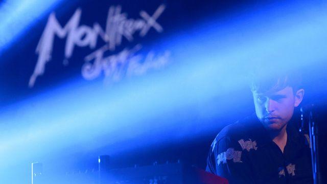 L'artiste de musique électronique James Blake au Montreux Jazz Lab, le 13.07.2015. [Laurent Gilliéron - Keystone]