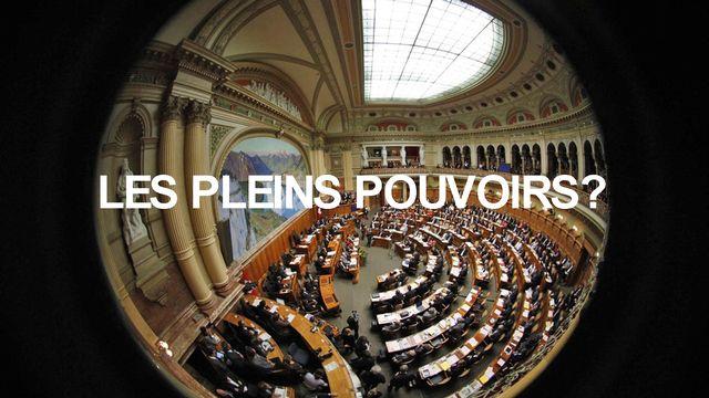 Homo Politicus 1 Les pleins pouvoirs [Peter Klaunzer - Keystone]