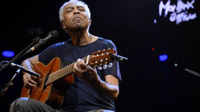 Gilberto Gil au Montreux Jazz Festival 2015. [Laurent Gillieron - Keystone]