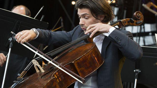 Le violoncelliste français Gautier Capuçon. [Anthony Anex - Keystone]