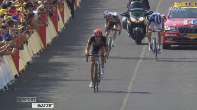 Cyclisme - Tour de France: le Britannique Stephen Cummings a remporté la 14e étape [RTS]