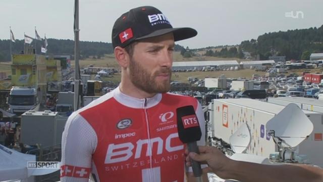 Cyclisme - Tour de France: Danilo Wyss est un des derniers Suisse en course [RTS]