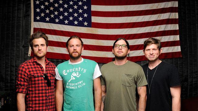 Le groupe de rock alternatif Kings of Leon. [Donn Jones - Invision/AP/Keystone]