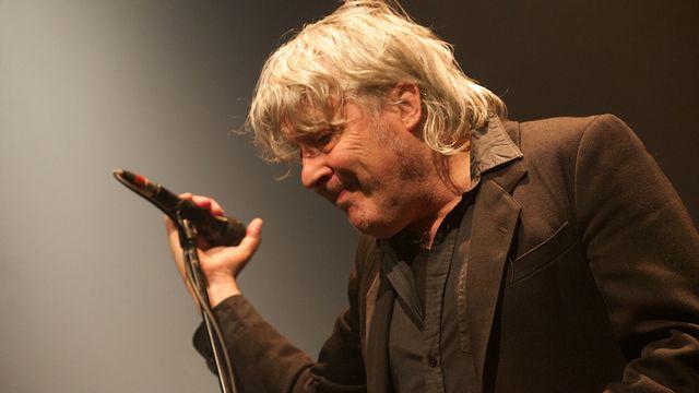 Arno sur scène à Ostende, le 21 ,ai 2014. [Kurt Desplenter - AFP]