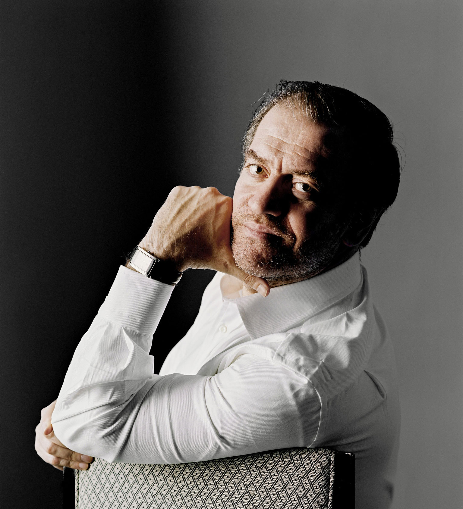 Valery Gergiev, chef d'orchestre.