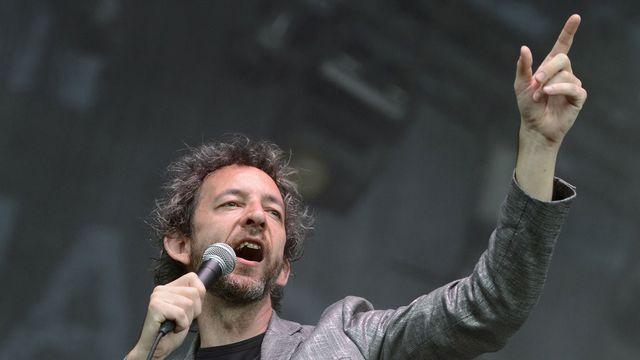 Arthur H au Paléo Festival. [Martial Trezzini - Keystone]