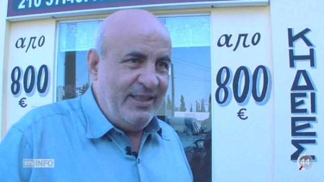 Grèce: l'augmentation brutale des prix touche durement les funérailles [RTS]