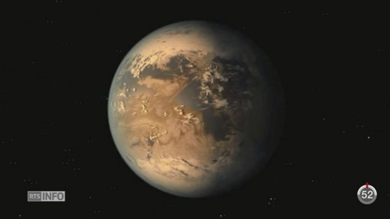 Des chercheurs de la NASA ont découvert une planète ressemblant à la Terre [RTS]