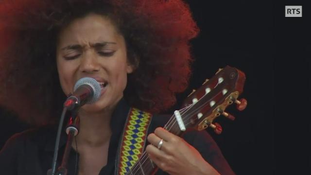 Concert de Nneka à Paléo [RTS]