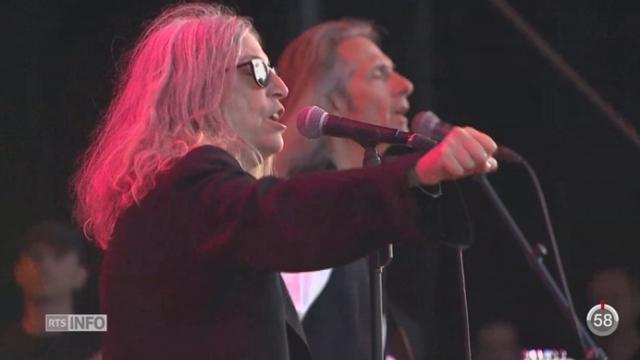 VD- Paléo Festival: Joan Baez, Patti Smith et Robert Plant ont assuré le show [RTS]