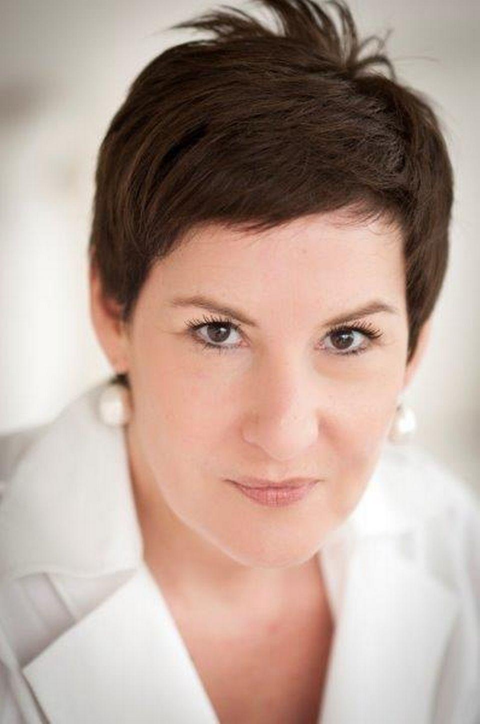 Marie Abbet, journaliste Temps présent. [RTS]