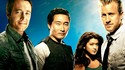 Hawaii Five-0, de g. à dr.: les acteurs Alex O'Loughlin, Daniel Dae Kim, Grace Park et Scott Caan. [CBS]