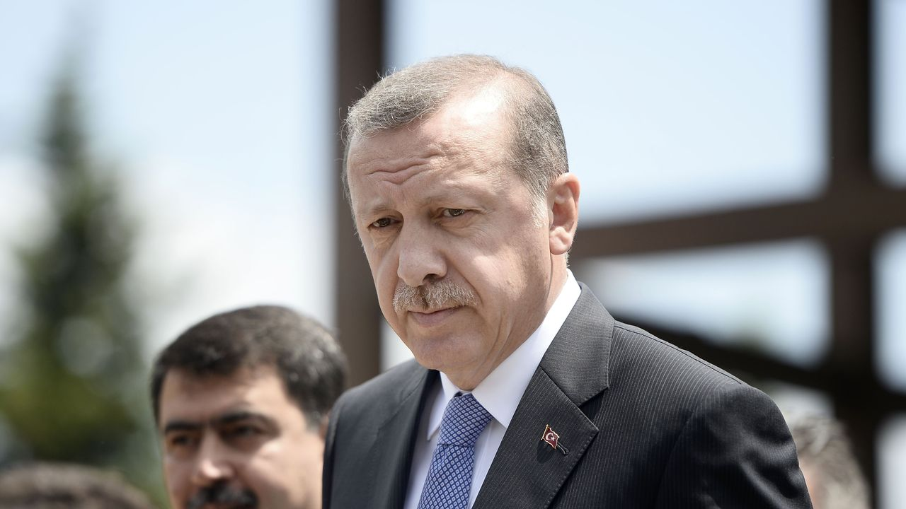 """Le président turc Recep Tayyip Erdogan dit vouloir poursuivre """"avec détermination"""" la lutte contre le terrorisme. [Berk Ozkan - Anadolu Agency/Keystone]"""