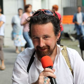 Manu Moser, programmateur du festival. [Eloïse Nussbaum - RTS]
