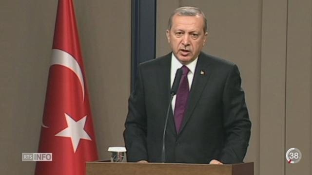 La Turquie a réaffirmé vouloir combattre l'Etat Islamique, mais également ses adversaires kurdes [RTS]