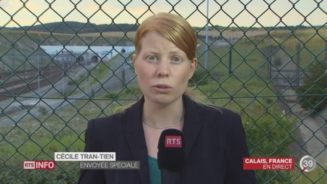 Situation des migrants à Calais: les explications de Cécile Tran-tien