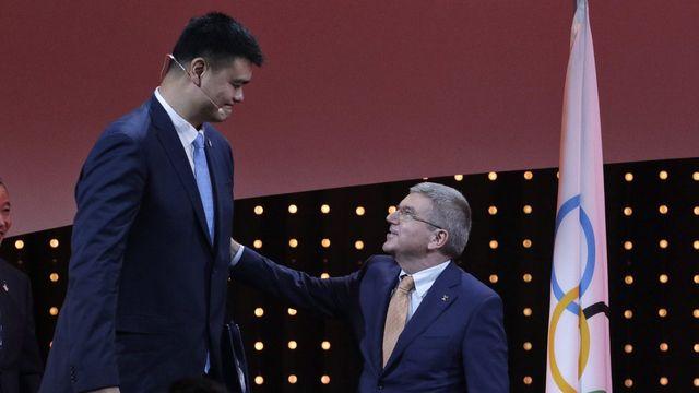 Pékin organisera les jeux Olympiques d'hiver 2022. [Ahmad Yusni - Keystone]