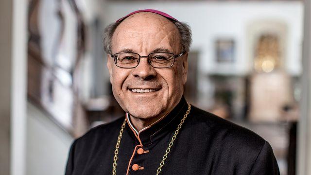 L'évêque de Coire, Vitus Huonder, est connu pour ses prises de position hostiles à l'homosexualité. [Gaëtan Bally - Keystone]