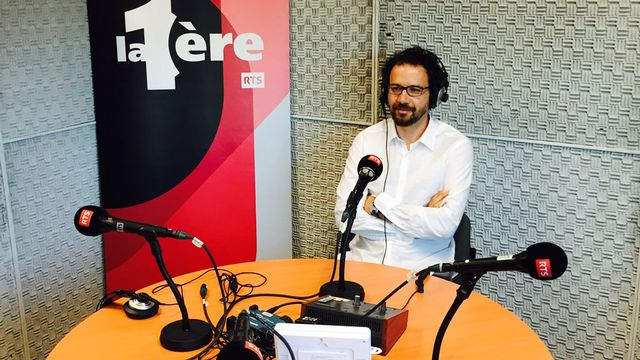 Carlo Chatrian, directeur artistique du Festival international du film de Locarno. [Alain Croubalian - RTS]