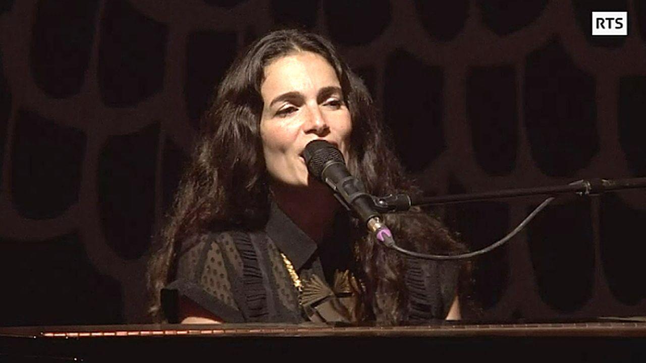 Le concert de Yael Naim à Paléo [RTS]