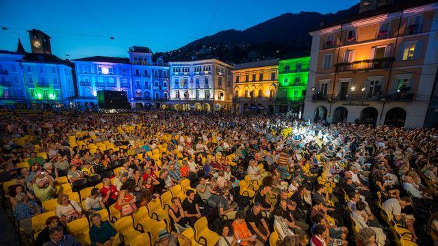 Le Festival de Locarno est un rendez-vous estival privilégié de la classe politique suisse. [Urs Flüeler - Keystone]