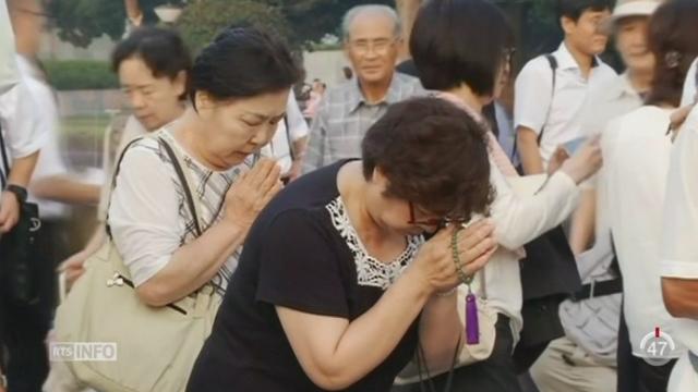 Le Japon commémore le 70e anniversaire des bombardements atomiques [RTS]