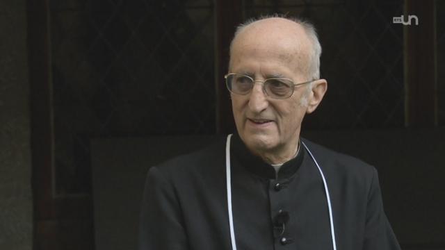 1500 de l'abbaye de Saint-Maurice: entretien avec Mgr Joseph Roduit [RTS]