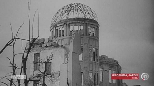 70 ans après Hiroshima, certains experts avancent d'autres arguments pour expliquer la fin du conflit [RTS]