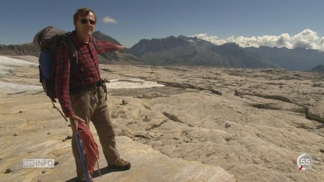 Le recul des glaciers s'accélère dramatiquement sous l'effet de la canicule [RTS]