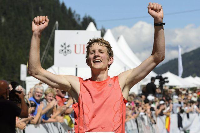 Sept ans après Tarcis Ançay, Marc Lauenstein donne un succès à la Suisse. [Laurent Gilliéron - Keystone]