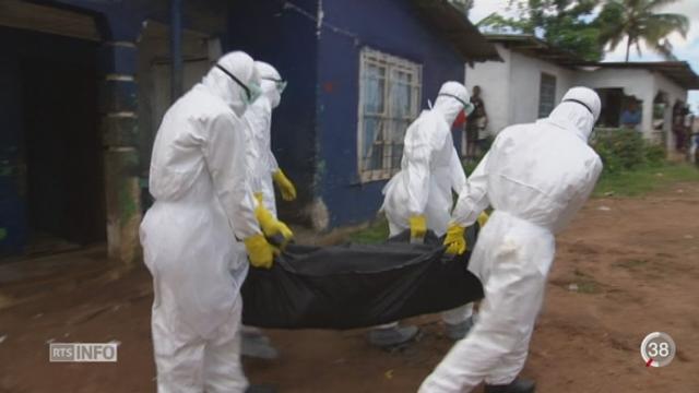 L'épidémie d'Ebola semble sous contrôle, les résultats du vaccin sont prometteurs [RTS]