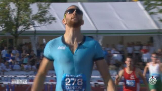 Athlétisme - Championnats de Suisse à Zoug: les Suisses sont en forme [RTS]