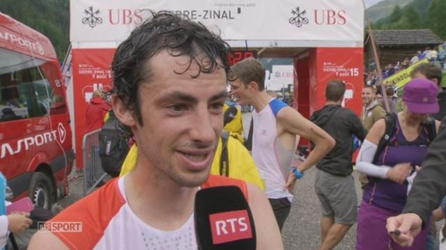 Sierre-Zinal: l'Espagnol Kilian Jornet remporte la course [RTS]