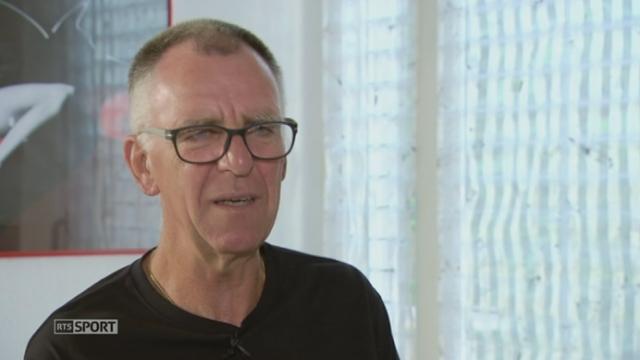 Sierre-Zinal: Clovis Demierre, atteint de la maladie de Parkinson, a participé à la course [RTS]