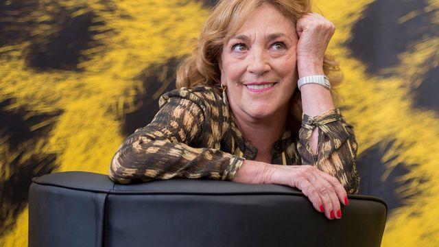 L'actrice espagnole Carmen Maura. [Urs Flueeler - Keystone]