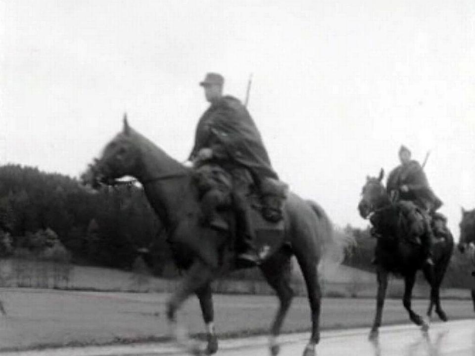 Le dernier pays d'Europe à garder sa cavalerie.