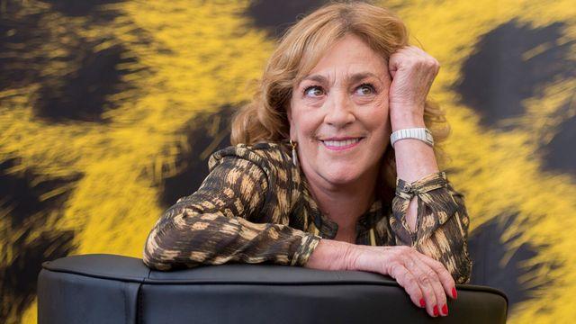 """L'actrice espagnole Carmen Maura joue dans le dernier film de Lionel Baier, """"La Vanité"""". [Urs Flueeler - Keystone]"""
